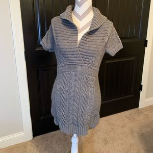 Banana Republic Dresses - Banana Republic | Wool Sweater Dress | S | Gray
